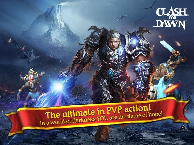 Clash for Dawn Guild War APK MOD imagen 1