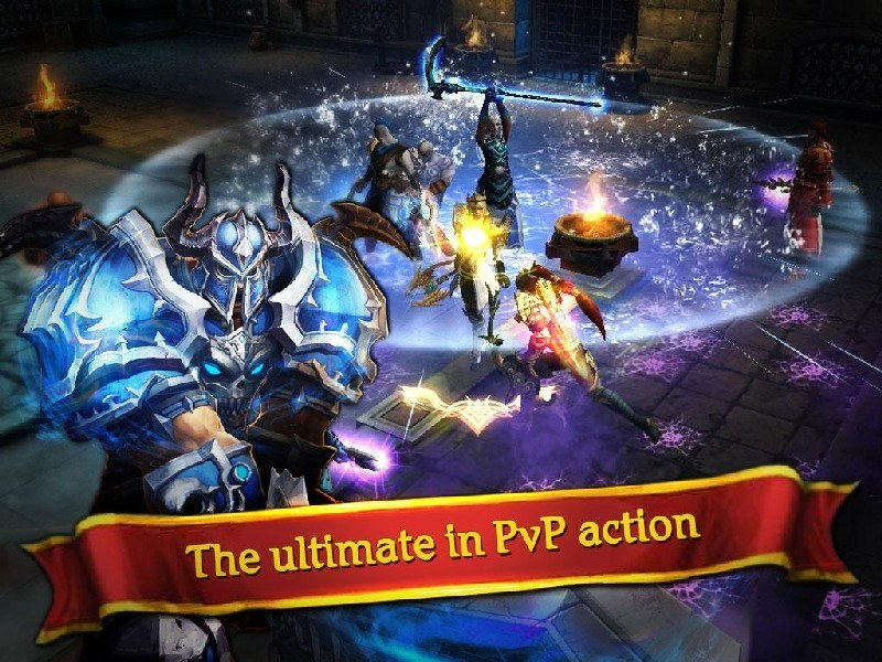 Clash for Dawn Guild War APK MOD imagen 2