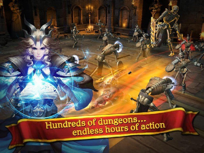 Clash for Dawn Guild War APK MOD imagen 5