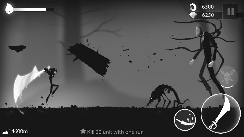 Stickman Run Shadow Adventure APK MOD imagen 1