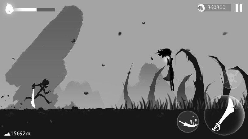 Stickman Run Shadow Adventure APK MOD imagen 3