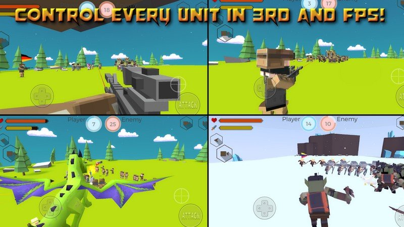 Tactical Battle Simulator APK MOD imagen 1