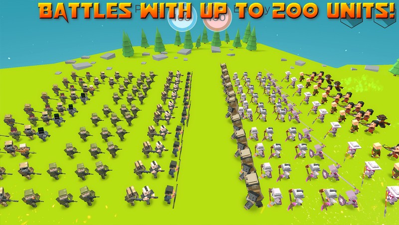 Tactical Battle Simulator APK MOD imagen 2