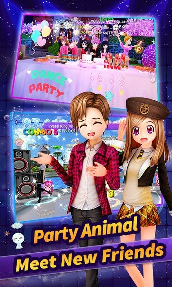 Au Mobile - Music, Dance & Fashion APK MOD imagen 1