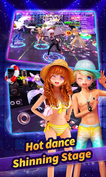 Au Mobile - Music, Dance & Fashion APK MOD imagen 2