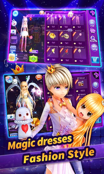 Au Mobile - Music, Dance & Fashion APK MOD imagen 4