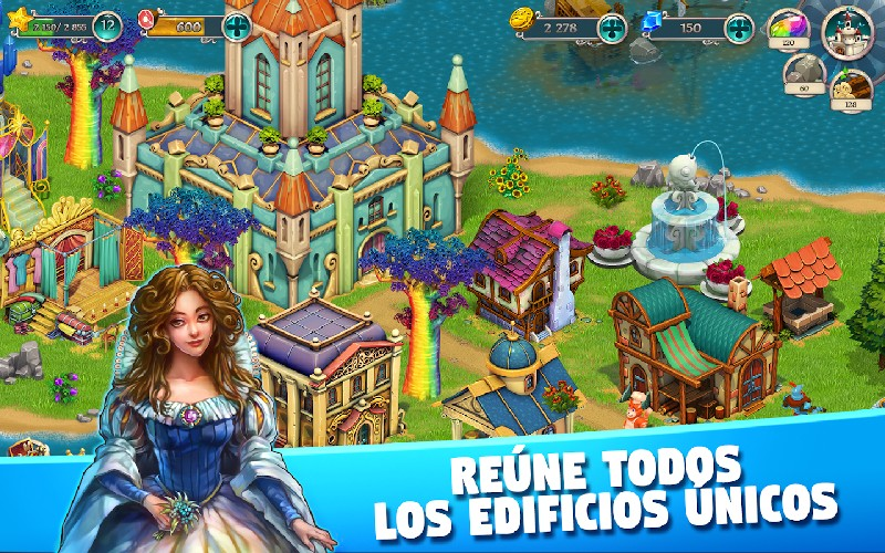 Fairy Kingdom World of Magic APK MOD imagen 4
