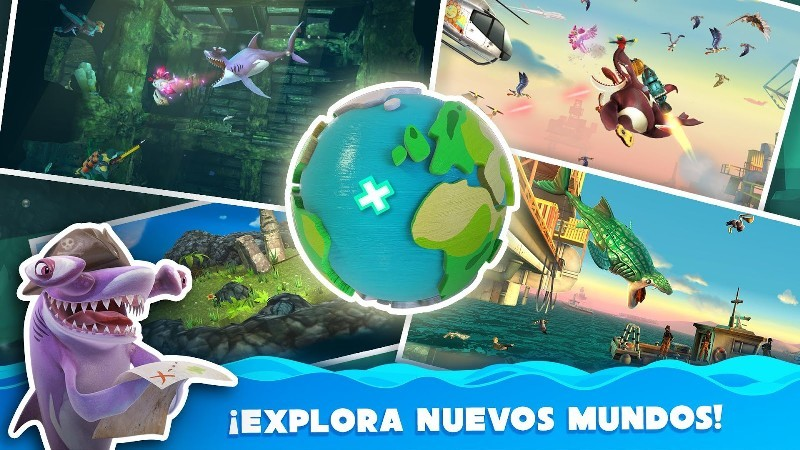 Hungry Shark World APK MOD imagen 3