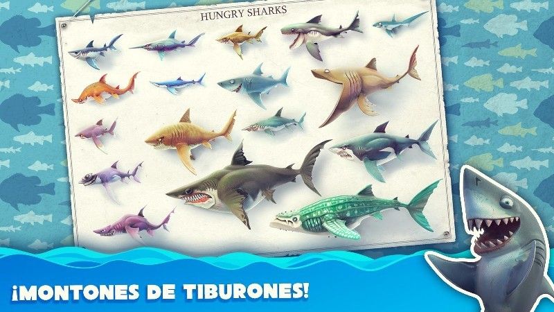 Hungry Shark World APK MOD imagen 4