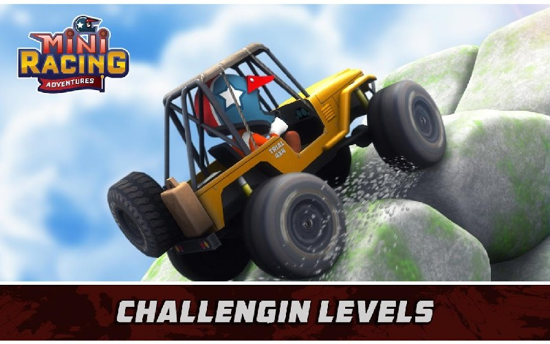 Mini Racing Adventures APK MOD imagen 4