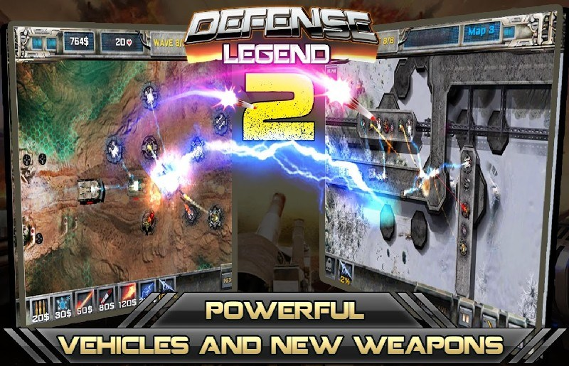 Tower defense-Defense legend 2 APK MOD imagen 4