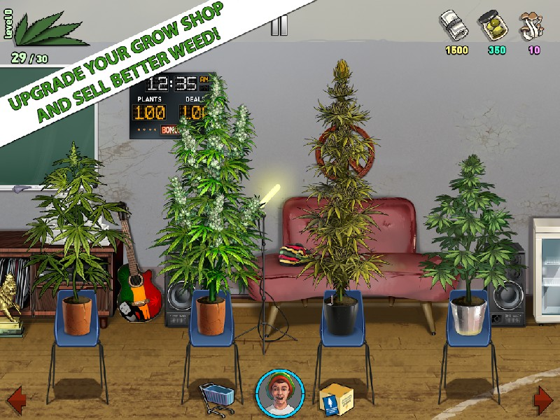 Weed Firm 2 Back to College APK MOD imagen 1