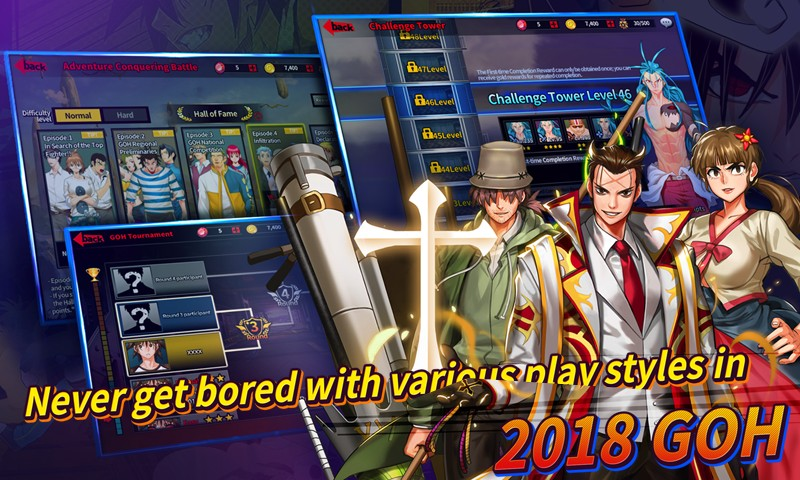 2018 The God of Highschool with NAVER WEBTOON APK MOD imagen 4