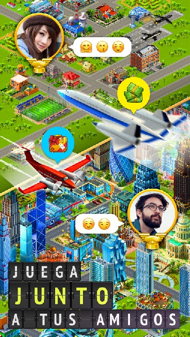 Airport City Airline Tycoon APK MOD imagen 4