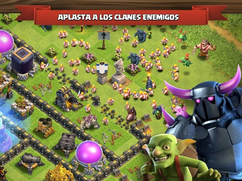 download clash of clans infinito