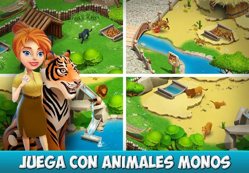 Family Zoo The Story APK MOD imagen 2