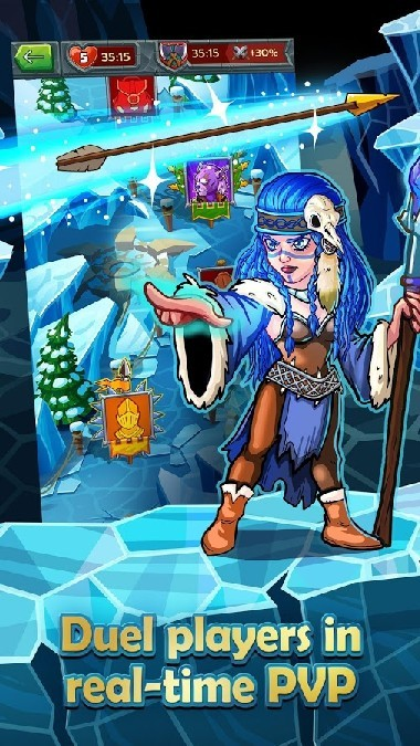 Heroes and Puzzles APK MOD imagen 3