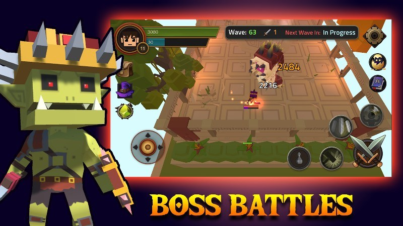 King of Raids Magic Dungeons APK MOD imagen 1