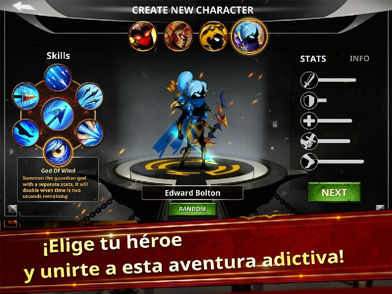 Stickman Legends - Ninja Warriors Shadow War APK MOD imagen 3
