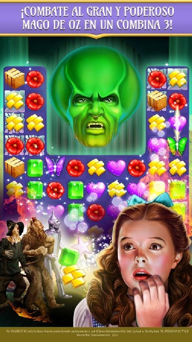 The Wizard of Oz Magic Match 3 APK MOD imagen 3