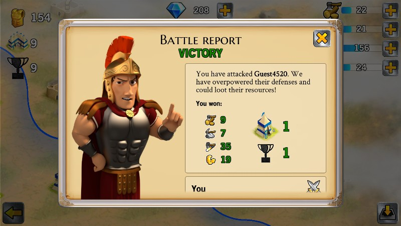 Battle Empire Rome War Game APK MOD imagen 4