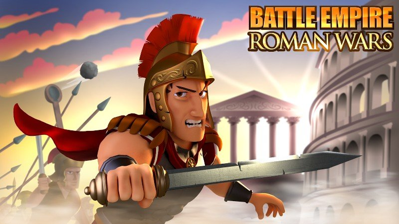Battle Empire Rome War Game APK MOD imagen 5