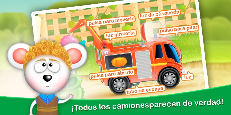 Firetrucks Rescue for Kids APK MOD imagen 4