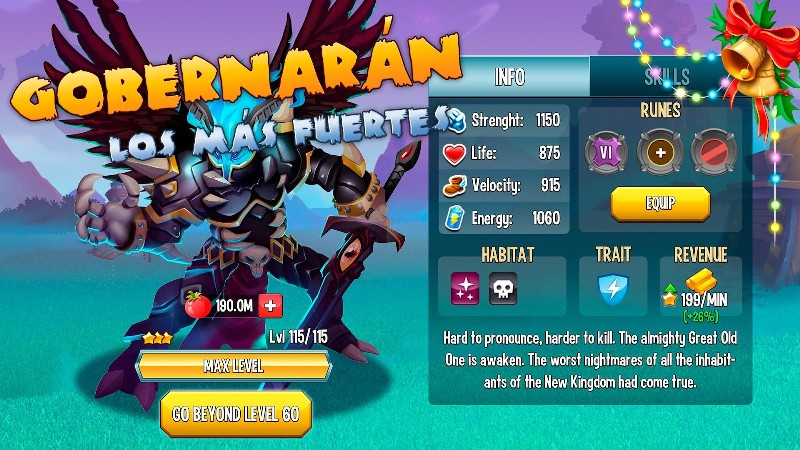 Monster Legends - RPG APK MOD imagen 1