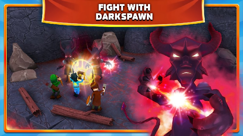Clash of Might and Magic APK MOD imagen 1