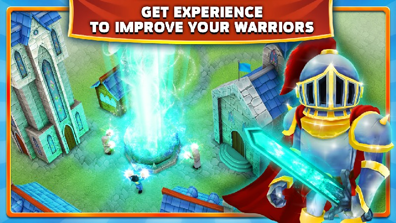 Clash of Might and Magic APK MOD imagen 2