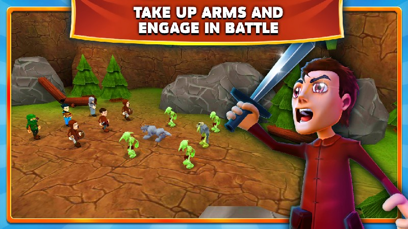 Clash of Might and Magic APK MOD imagen 5