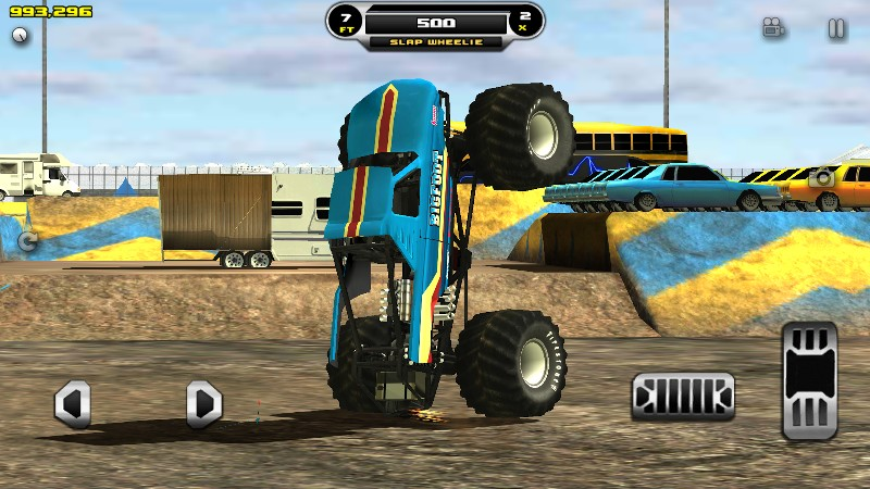 Monster Truck Destruction APK MOD imagen 1