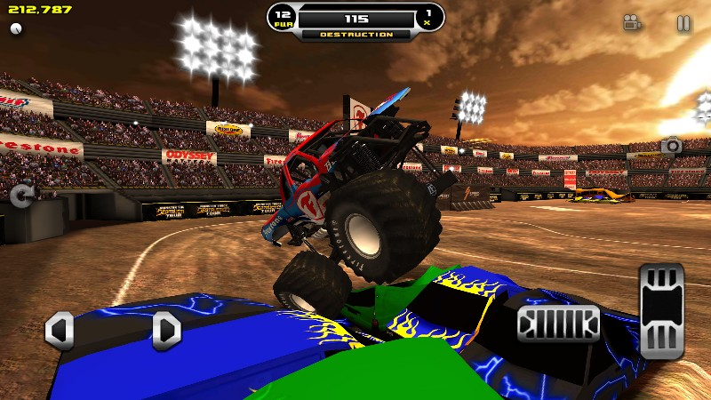 Monster Truck Destruction APK MOD imagen 3