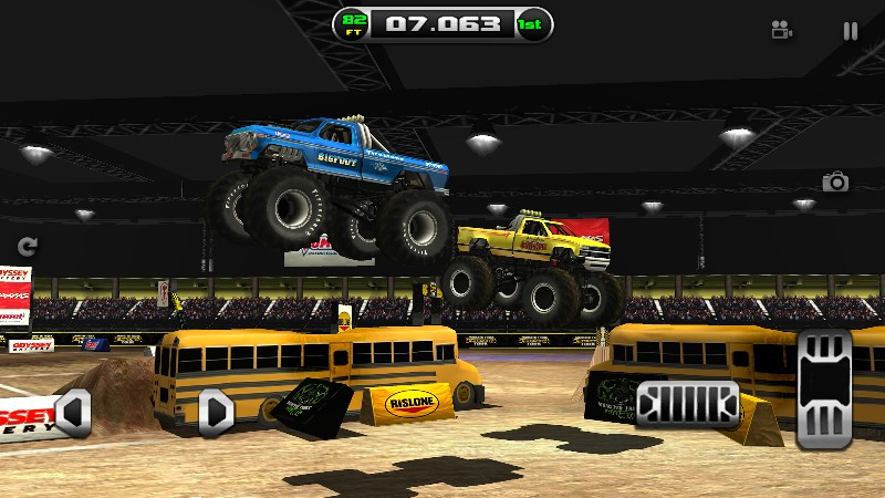 Monster Truck Destruction APK MOD imagen 4