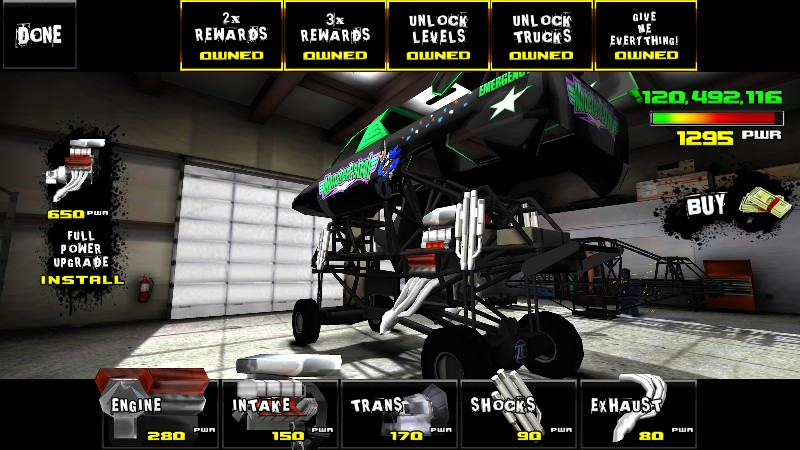 Monster Truck Destruction APK MOD imagen 5