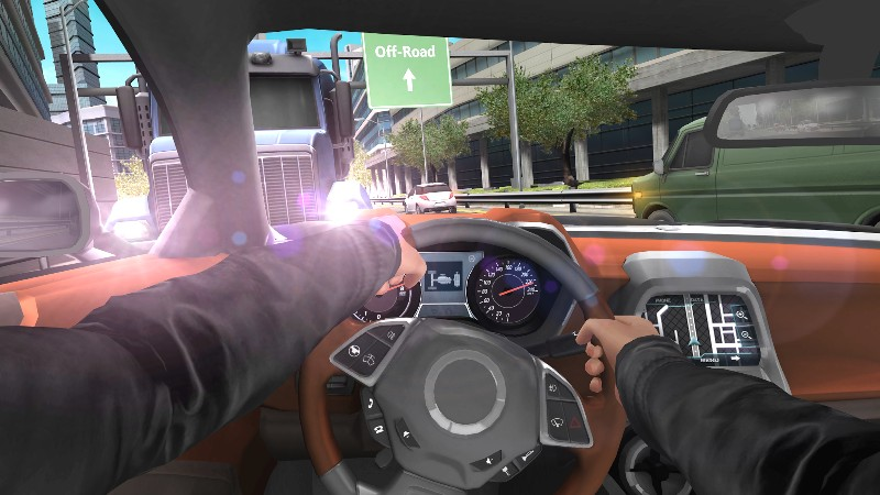 Car In Traffic 2018 APK MOD imagen 5