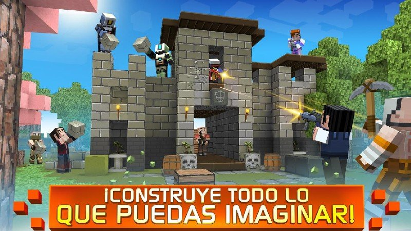 Craft Shooter Online Guns of Pixel Shooting Games APK MOD imagen 2