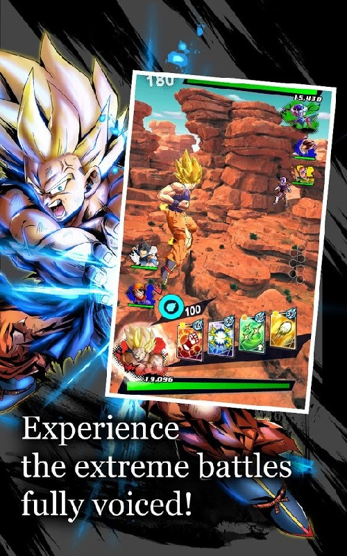 DRAGON BALL LEGENDS APK MOD imagen 2
