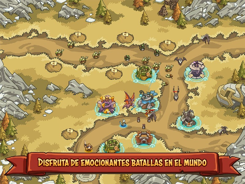 Empire Warriors TD Defense Battle APK MOD imagen 4