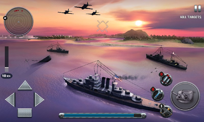 Ships of Battle The Pacific APK MOD imagen 3
