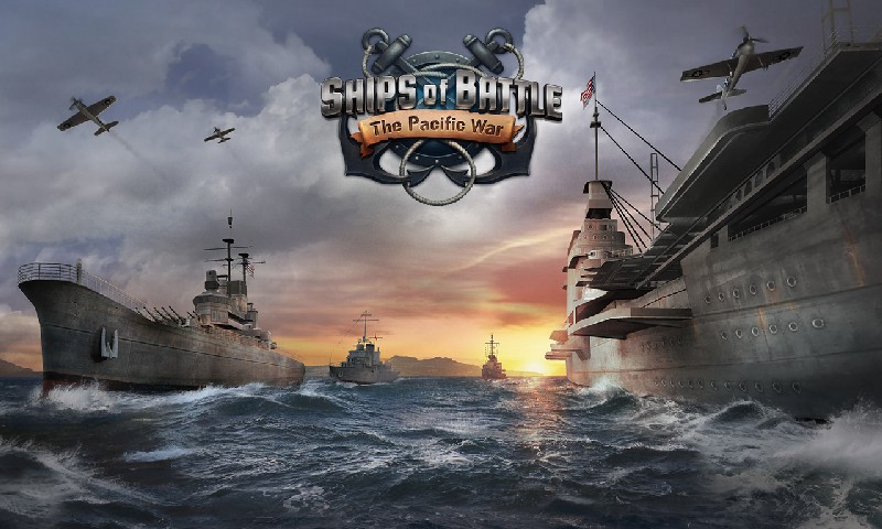 Ships of Battle The Pacific APK MOD imagen 4