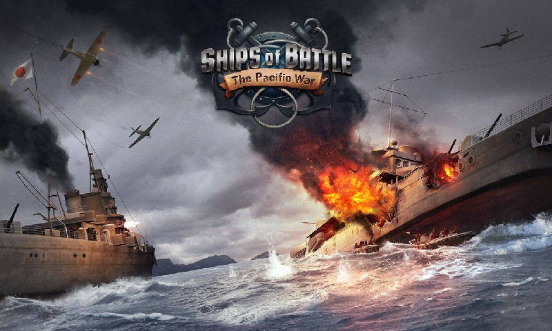 Ships of Battle The Pacific APK MOD imagen 5
