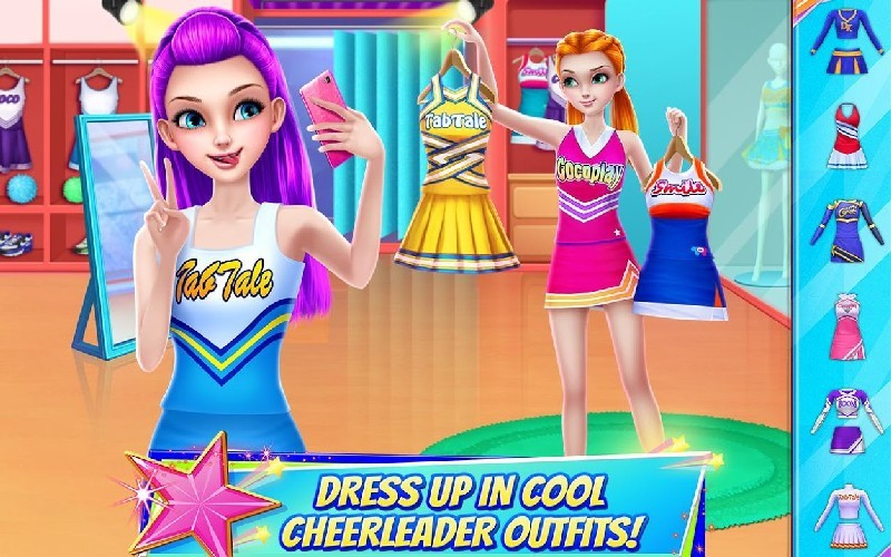 Cheerleader Dance Off - Squad of Champions APK MOD imagen 2