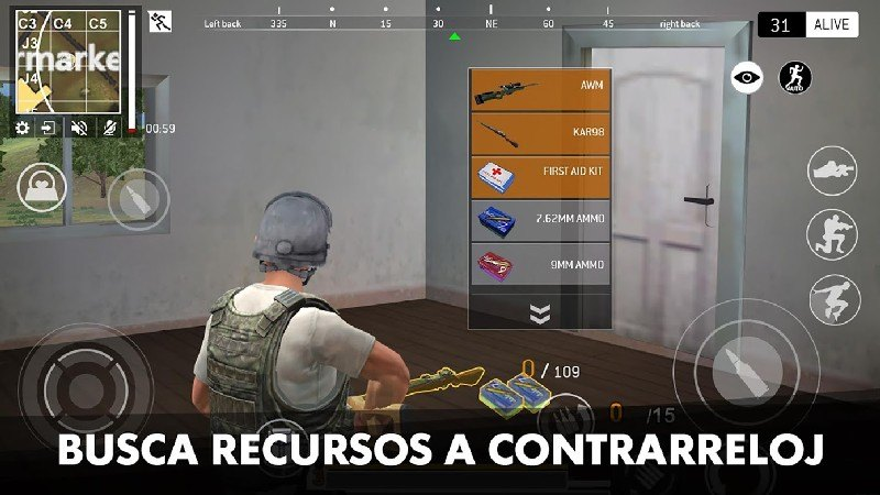 Last Battleground Survival APK MOD imagen 2