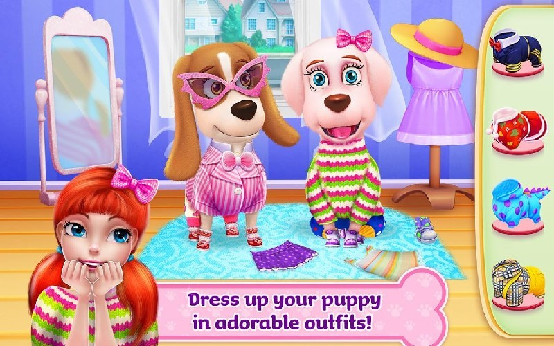 Puppy Life - Secret Pet Party APK MOD imagen 1
