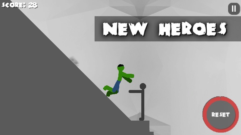 Stickman Destruction 3 Heroes APK MOD imagen 3