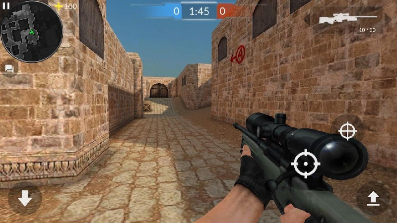 Critical Strike CS Counter Terrorist Online FPS APK MOD imagen 4