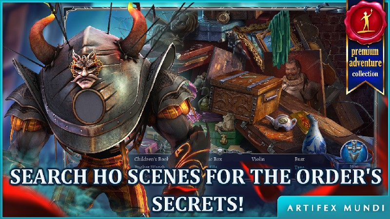 Grim Legends 3 The Dark City APK MOD imagen 2