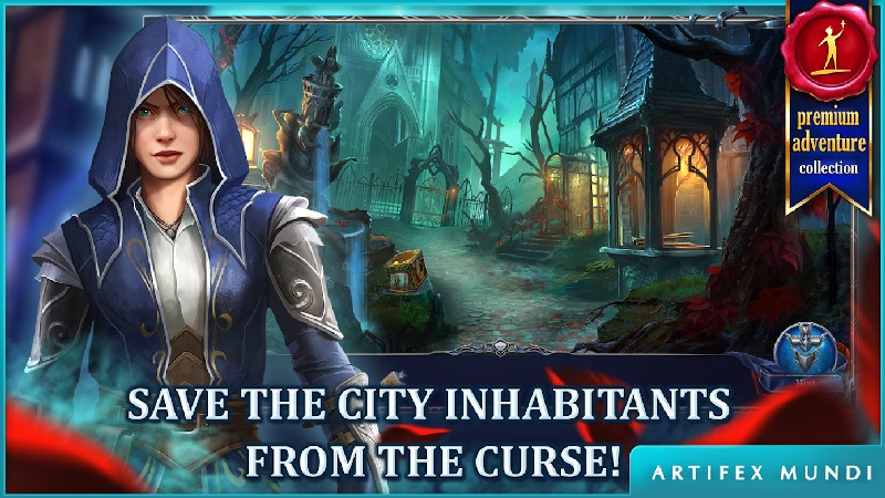 Grim Legends 3 The Dark City APK MOD imagen 4