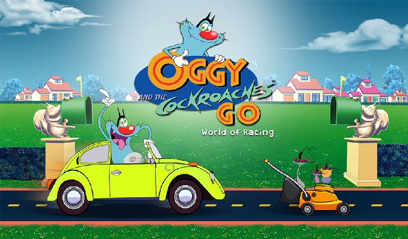 Oggy Go - World of Racing (The Official Game) APK MOD imagen 5